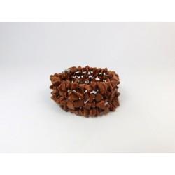 Браслет Авантюрин коричневий крошка