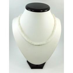 Намисто Адуляр (місячний камінь) (Індія) рондель 4 мм