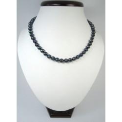 Вишукане намисто з темних перлин
