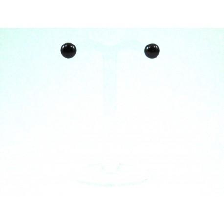 Сережки Перлини 8 мм.