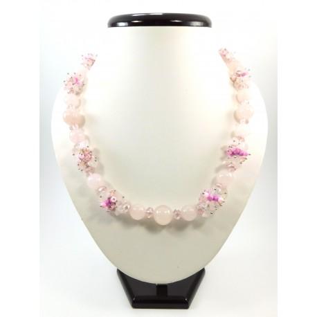 """Ексклюзивне намисто """"Квітучий рай """""""