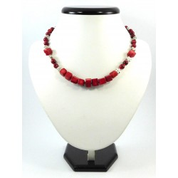 """Эксклюзивное ожерелье """"Коралловые цветы"""" Коралл"""
