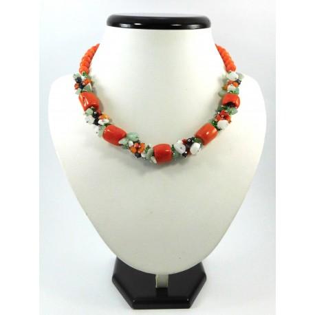 Ексклюзивне намисто з Коралу оранжеве