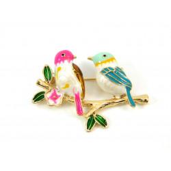 Брошка Райські пташки