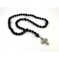 Вервиця для молитви  Шунгіт