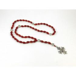 Вервиця для молитви Сердолік