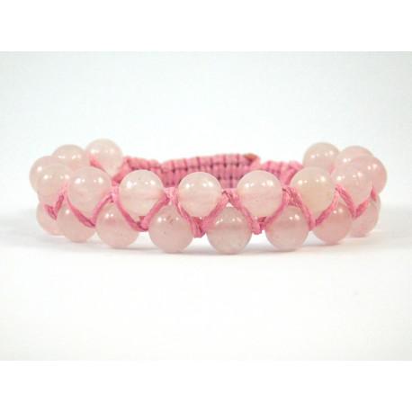 Ексклюзивна шамбала Рожевий Кварц