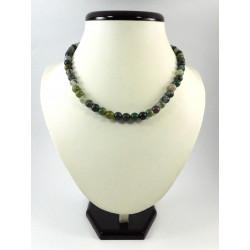 Ексклюзивне намисто Агат зелений