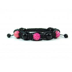 Ексклюзивна арахна Агат рожевий , чорний