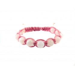 Шамбала рожевий кварц