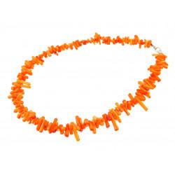 Намисто корал зубчик оранжевий