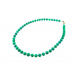 Намисто Перламутр зелений