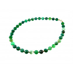 Намисто Агат африканський зелений