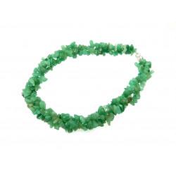 Ожерелье Нефрит крошка трехрядное