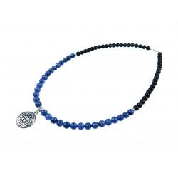 """Эксклюзивное ожерелье """"Синее море"""""""
