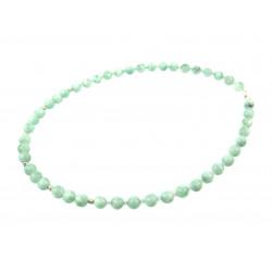Эксклюзивное ожерелье Ангелит + флюорит