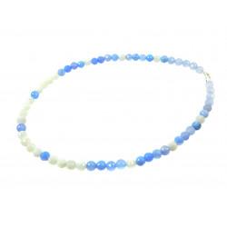 Эксклюзивное ожерелье Агат + адуляр