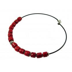 "Эксклюзивное ожерелье ""Prima donna"" Коралл"