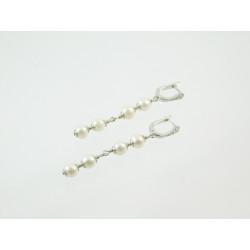 Ексклюзивні сережки Перли  7 мм .