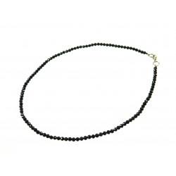 Намисто Турмалін грань 3,5мм грань чорний