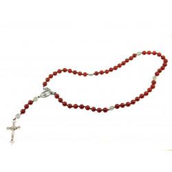 Вервиця для молитви Сердолік  8 мм