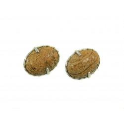 Сережки Яшма пісочна