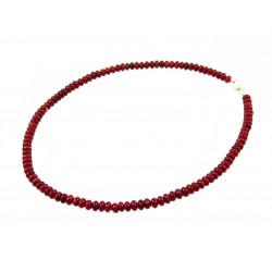 Ожерелье Коралл рондель