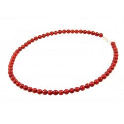 Ожерелье Корал кирпичный
