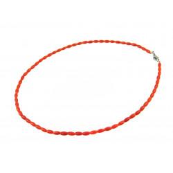 Ожерелье Коралл рис кирпичный