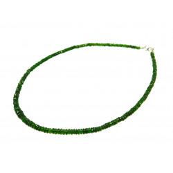 Намисто Турмалін зелений рондель