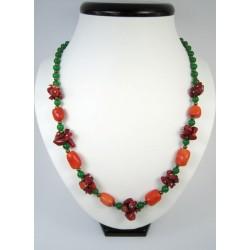 """Ексклюзивне намисто з коралу """"Осінні ягоди"""""""